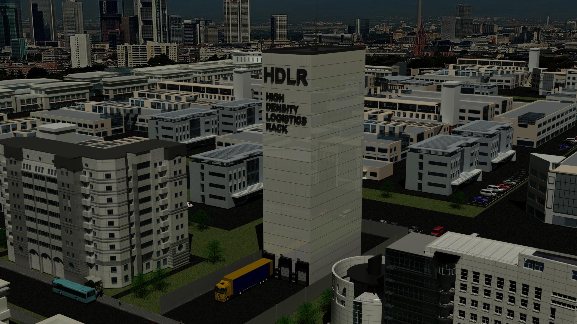 3D Visualisierung - HDLR
